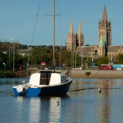 Truro River and Cathedral