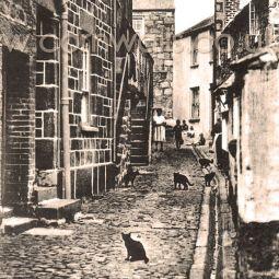 Virgin Street, St Ives 1920s