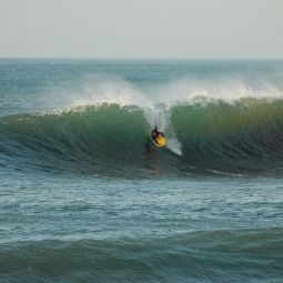 Bodyboarder at The Vortex