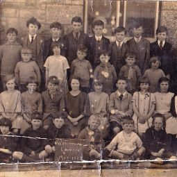 Warleggan School Photo - 1927