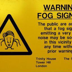 Warning Fog Signal!