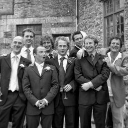 The Boys at Juan and Bea's Wedding