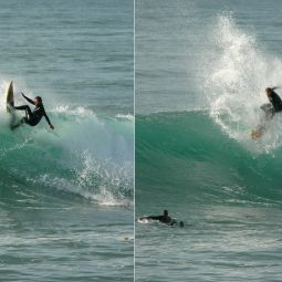 Whacking the Lip at Porthleven