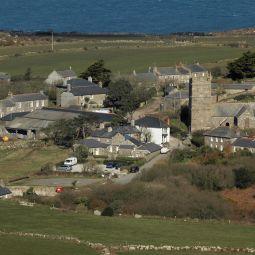 Zennor Village