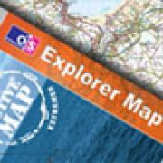 Cornwall OS Explorer Active maps