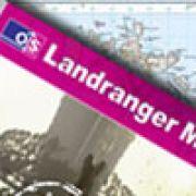 Cornwall OS Landranger Active maps