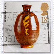 Leach Pottery postage stamp - 1987