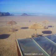 Perranporth Beach webcam