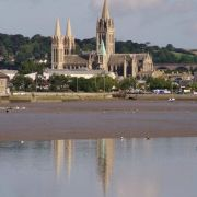 Truro Cathedral from Malpas