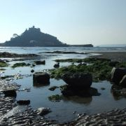 St. Michaels Mount Silhouette