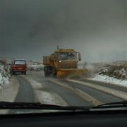 Snow Plough on the St Just Road