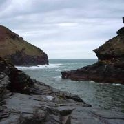 Boscastle looking out to sea