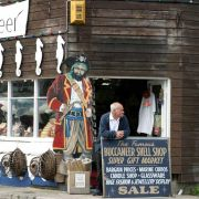 Buccaneer shell shop - Penzance