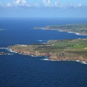 Land's End from the air