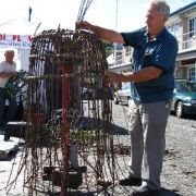 Making lobster pots