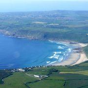 Sennen Beach - Aerial View