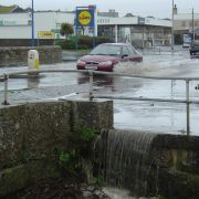 Flood - Wherrytown, Penzance