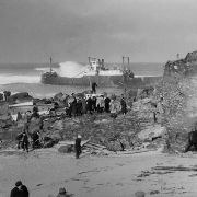 Wreck of the SS Alba - St Ives 1938