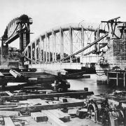Tamar Rail Bridge Construction