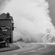 The Barbican during a Storm -  Penzance