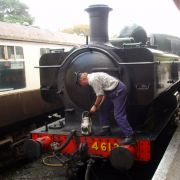 Steam Engine - Bodmin and Wenford Railway