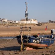 Boat on Beach - Bude