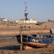 Boat on Beach - Bude