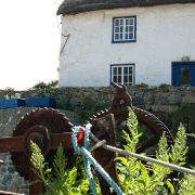 Cadgwith - Old fishing boat winch