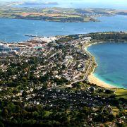 Falmouth aerial photo