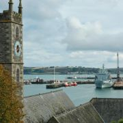 Falmouth Church and Docks