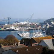 Falmouth Docks View