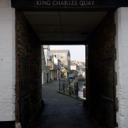 King Charles Quay Entrance - Falmouth