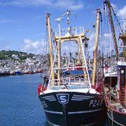 Newlyn fishing boat
