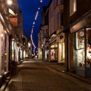 Fore Street, St Ives by Night