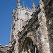 Fowey Church tower