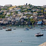 Polruan from Fowey view