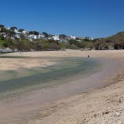 Gannel Estuary at low tide