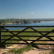 Gate near Black Head