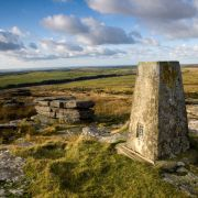 Hawks Tor Trig Point
