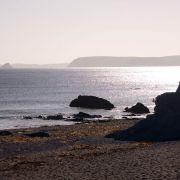 Hemmick Beach - Evening Sun