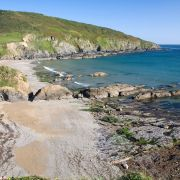 Hemmick Beach Rocks