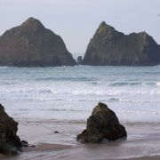 Gull Rocks - Holywell Bay