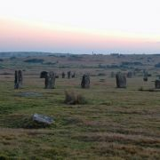The Hurlers at Dusk