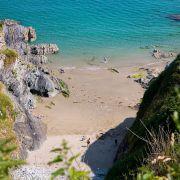 Lantivet Bay beach