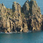 Logan Rock - Treen Castle nr Porthcurno