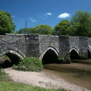 Lostwithiel - Bridge over River Fowey