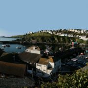 Mevagissey Harbour Panorama
