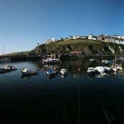 Polkirt Hill from Mevagissey Harbour
