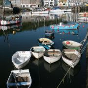 Rowing Boats - Mevagissey Harbour