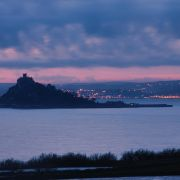 Dusk at St Michael's Mount